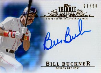 Bill Buckner Certified Autograph Card