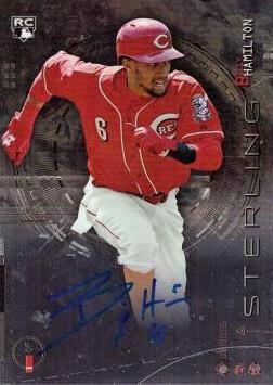 2014 Bowman Sterling Billy Hamilton Autograph Rookie Card