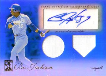 Bo Jackson Authentic Autograph Card