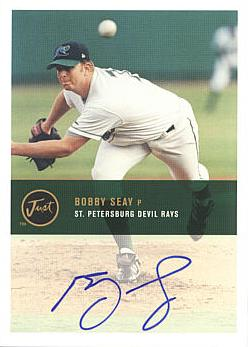 Bobby Seay Authentic Autograph Card