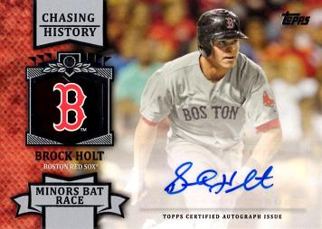 Brock Holt Autograph Card