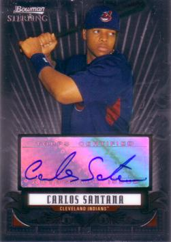 Carlos Santana Authentic Autograph Card