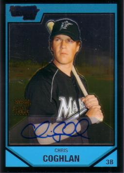 Chris Coghlan Authentic Autograph Card