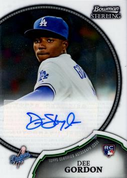 Dee Gordon Certified Autograph Rookie Card