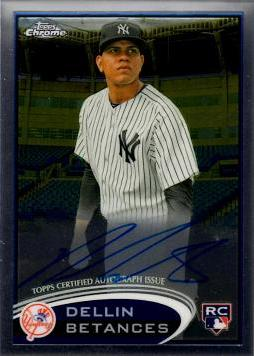 Dellin Betances Certified Autograph Rookie Card
