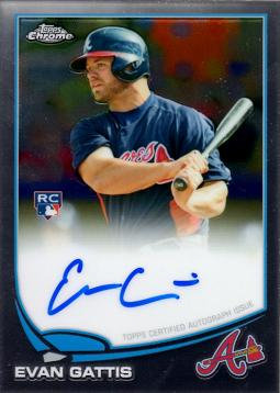 Evan Gattis Autograph Rookie Card