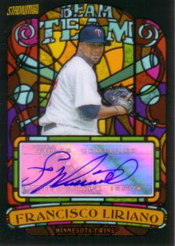Francisco Liriano Certified Autograph Card