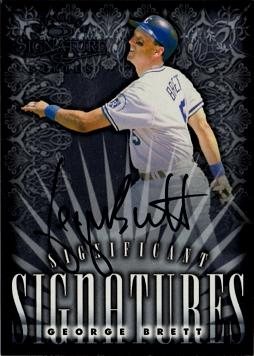 George Brett Authentic Autograph Card