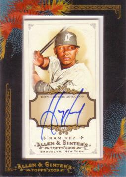 Hanley Ramirez Authentic Autograph Card