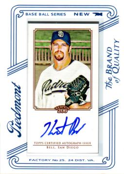 Heath Bell Certified Autograph Card