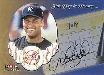 Derek Jeter Authentic Autograph Card