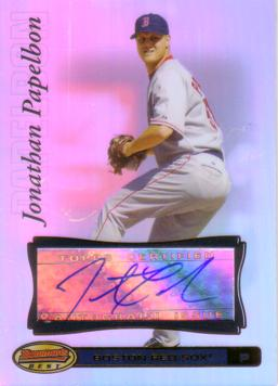 Jonathan Paplebon Authentic Autograph Card