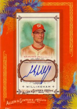 Josh Willingham Certified Autograph Card