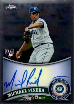 Michael Pineda Autograph Rookie Card