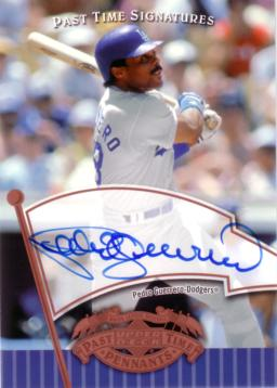 Pedro Guerrero Authentic Autograph Card