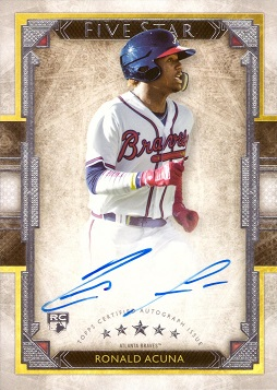 Ronald Acuna Jr. Autograph Rookie Card