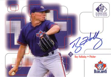 Roy Halladay Authentic Autograph Card