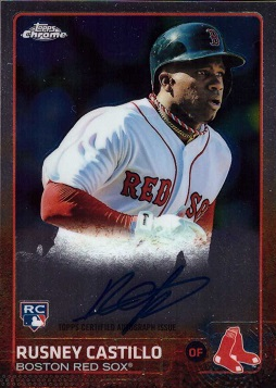 Rusney Castillo Autograph Rookie Card
