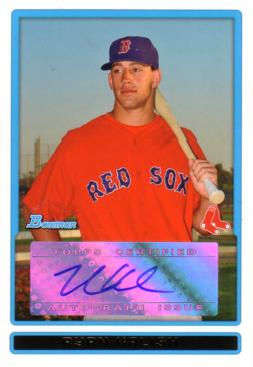 Ryan Kalish Certified Autograph Card