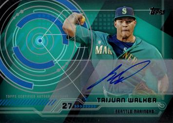 Taijuan Walker Certified Autograph Baseball Card