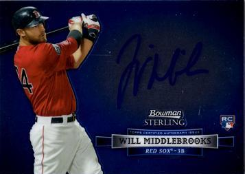 Will Middlebrooks Autograph Rookie Card