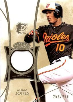 Adam Jones Game Worn Jersey Card