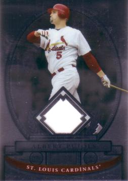 Albert Pujols Game Worn Jersey Card