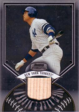 Alex Rodriguez Game Used Bat Card