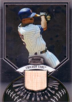 Alfonso Soriano Game Used Bat Card
