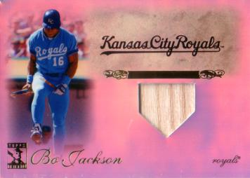 Bo Jackson Game Used Bat Card