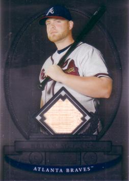 Brian McCann Game Used Bat Card