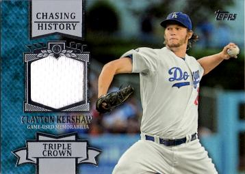 Clayton Kershaw Game Worn Jersey Card