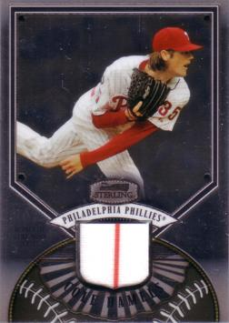 Cole Hamels Game Worn Jersey Card