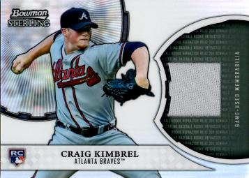 Craig Kimbrel Game Worn Jersey Card