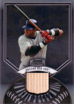 David Ortiz Game Used Bat Card
