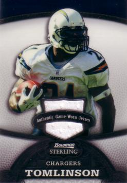 LaDainian Tomlinson Game Worn Jersey Card