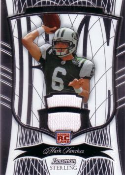 Mark Sanchez Game Worn Jersey Card