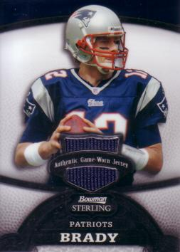 Tom Brady Game Worn Jersey Card