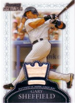 Gary Sheffield Game Worn Jersey Card