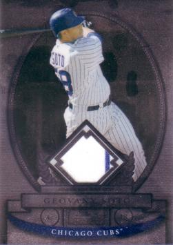 Geovany Soto Game Worn Jersey Card