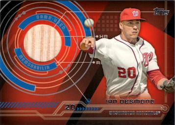 2014 Topps Relics Ian Desmond Game Used Bat Baseball Card