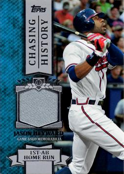 Jason Heyward Game Worn Jersey Card