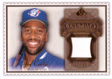 Joe Carter Jersey Card