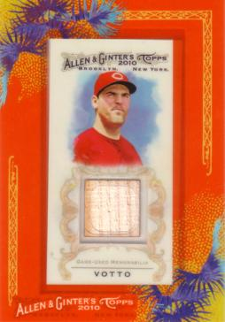 Joey Votto Game Used Bat Card