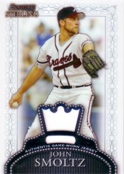 John Smoltz Game Worn Jersey Card