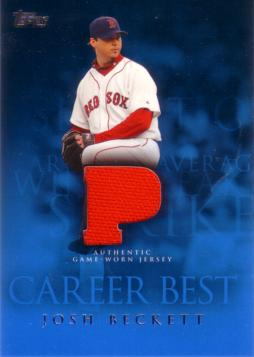 Josh Beckett Game Worn Jersey Card