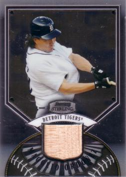 Magglio Ordonez Game Used Bat Card