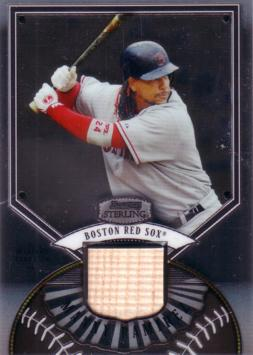 Manny Ramirez Game Used Bat Card