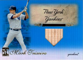 Mark Teixeira Game Used Bat Card