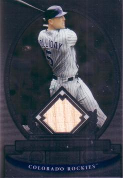 Matt Holliday Game Used Bat Card
